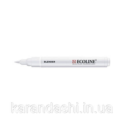 Ручка-кисточка Ecoline Brushpen (902), Блендер, Royal Talens, фото 2