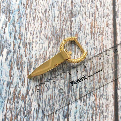 Боковое крепление для ручки с венком, золото