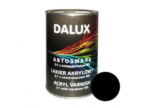 Автокраска акриловая 601 Черная DALUX 2K 1л. без отвердителя
