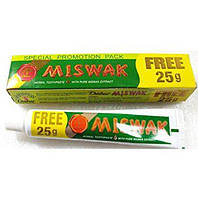 Зубная паста без фтора Dabur MISWAK (Дабур Мисвак) 75 грамм