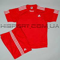 Футбольная форма Adidas игровая для команд красная