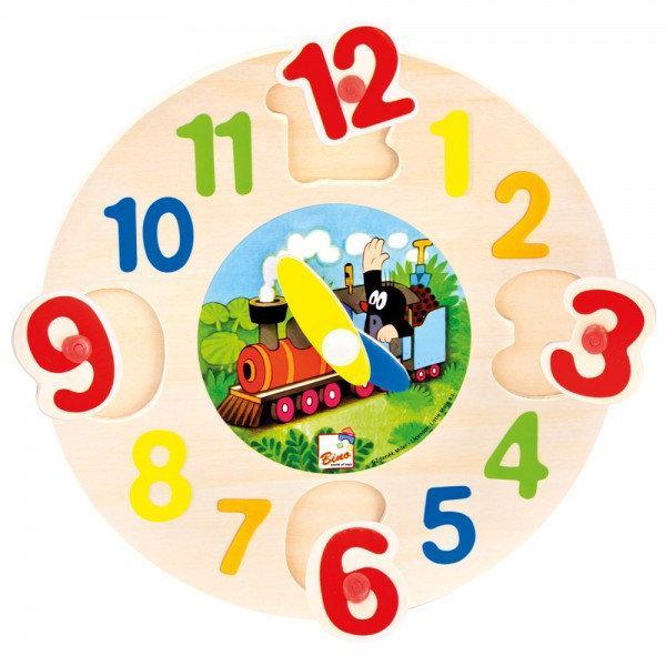Часы пазл Bino - Крот