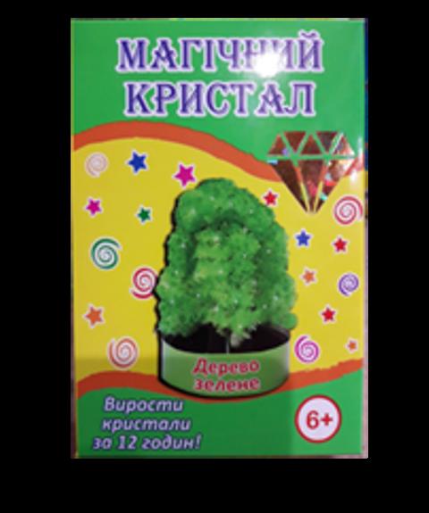 Кристалл Зеленая дерево