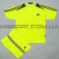 Футбольная форма Adidas игровая для команд салатовая
