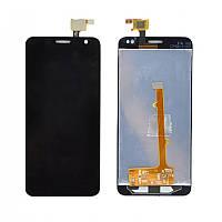 Дисплей (LCD) Alcatel 6012D Idol Mini/ 6012X + Сенсор (тачскрин) черный