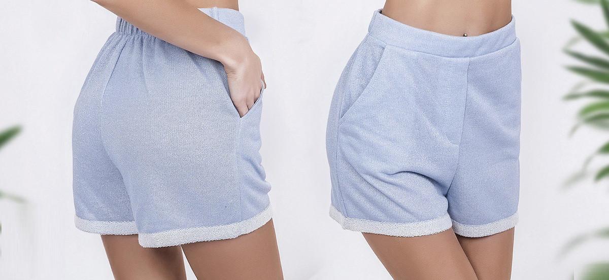 Женские талевые  шорты 3752
