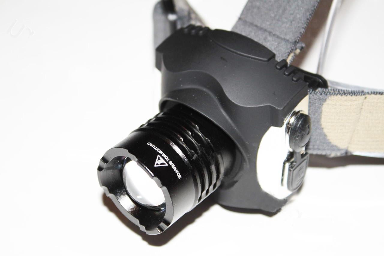 Налобный фонарь BAILONG BL-806 T6 Cree ZOOM