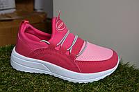 Детские кроссовки сетка Nike сетка красные розовые, копия, фото 1