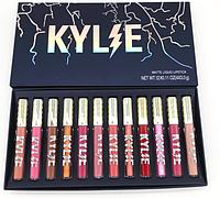 Набор матовых жидких помад Kylie Weather Collection NEW 2018 (12 цветов)