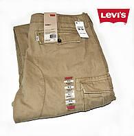 Брюки-карго мужские Levi's Cargo/W40xL32/7 карманов.100% хлопок.Оригинал из США..