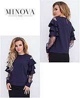Блуза женская в расцветках 33161, фото 1