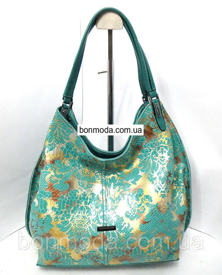 f36f2bab6041 Кожаная женская сумка Velina Fabbiano, цена 1 020 грн., купить в ...