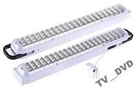 Светильник аккумуляторный фонарь 6805 лампа 66 SMD LED  Акция !!!