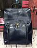 Кожаный женский рюкзак трансформер Grays GR-8326BL