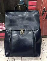 Кожаный женский рюкзак трансформер Grays GR-8326BL, фото 1