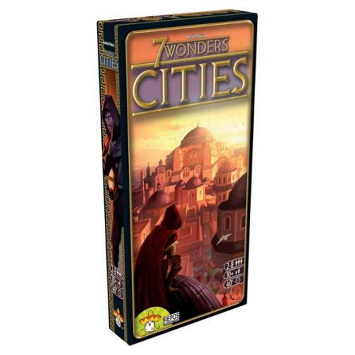 """Настольная игра """"7 Чудес: Города (7 Wonders: Cities)"""" Asmodee"""