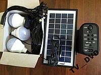 Фонарь аккумуляторный солнечная батарея 3LED лампы