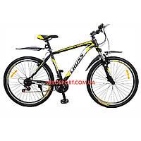 Горный велосипед Cross Atlas 29 дюймов черно-желтый