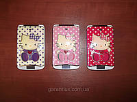 Hello Kitty POOV 813 сенсорный экран, часы на внешней панели (Duos, 2 sim, 2 сим-карты)