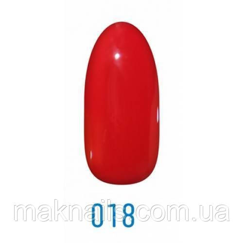 Гель-лак Leo №018 гранат 9мл