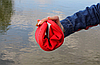 Женские - подростковые мокасины - чешки, кеды красные летние, фото 4