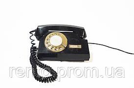 Телефон дисковый (черный) - аренда, прокат