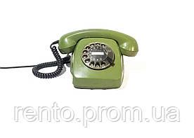 Телефон дисковый (зеленый) - аренда, прокат