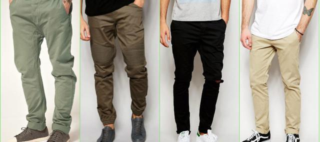 Чоловічі штани, штани, джинси