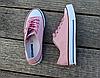 Женские кеды Converse розовые реплика, фото 5