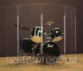 Звуковой экран для барабанов - аренда, прокат