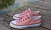 Женские кеды Converse розовые реплика, фото 6
