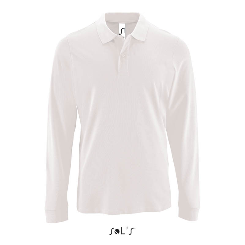1d6d2a5d079 Мужская рубашка поло с длинным рукавом PERFECT LSL MEN (02087102S BR ...
