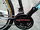 Горный велосипед Titan Street 26 дюймов черно-синий, фото 4