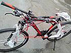 Горный велосипед Titan Street 26 дюймов черно-красный, фото 2