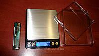 Точные ювелирные настольные весы 6295 - 2 кг (десятые - 0,1) + Чаша