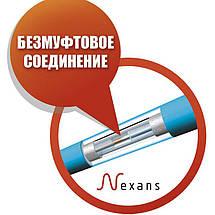 Одножильный нагревательный кабель в стяжку Nexans TXLP/1 1000 Вт (5,9-7,4 м2), фото 3