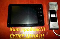"""Домофон c цветным экраном Sigmatec VDP - 200 Black 7"""" дюймовый"""