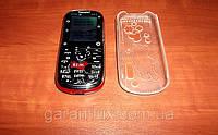 Детский телефон DONOD с113 (Sonoc c113, FM, bluetooth, 2 сим карты, фонарик, донод) + чехол!