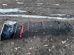 Садок  прорезиненный карповый черный   прямоугольный 2.5 м