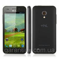 """Смартфон THL V12 экран 4"""" на 4 андроиде (Duos, черный, black) + стилус"""