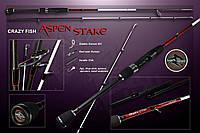"Спиннинг  Crazy Fish ASPEN STAKE AS762LT (3-15g 230cm 7'6"" 112g)"
