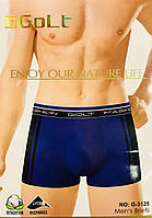 Трусы мужские боксёры хлопок + бамбук GOLT размер L-3XL(46-54) 3125