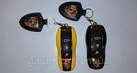 Мини телефон-брелок раскладной Porsche Panamera S mini на 2 Sim + чехол-кобура