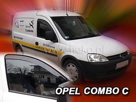 Дефлекторы окон OPEL COMBO 2002-  (HEKO)