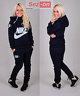 Костюм спортивный женский Nike с капюшоном Черный