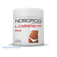 Nosorog nutrition L-CARNITINE 90tab л-карнитин карнітин