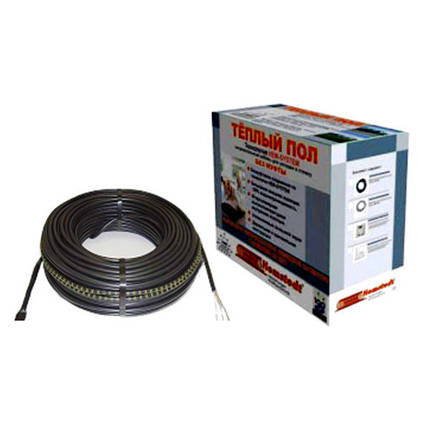 Тонкий двухжильный кабель под плитку Hemstedt DR 1050 Вт (5,0-6,7 м2), фото 2