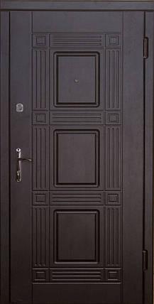 Металлические входные двери Укрдвери МДФ Министр венге, фото 2
