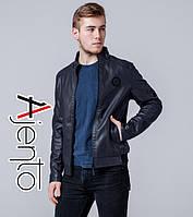 Куртка весенне-осенняя мужская 13332 темно-синий 50