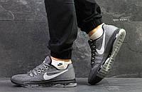Мужские кроссовки Nike Air Zoom  найк зум серые - Сетка,подошва резина(низ подошвы силикон) р:41-45Вьетнам , фото 1